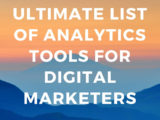 List of Analytics Tools For Digital Marketing