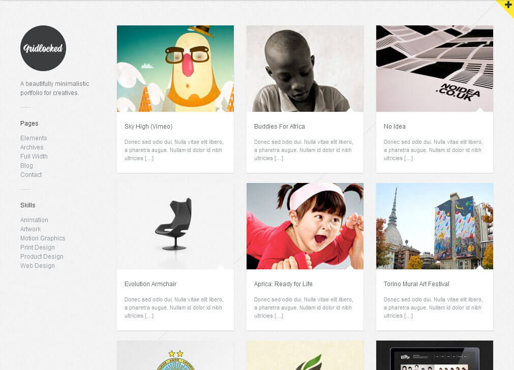 WordPress Portfolio Themes For Personal / Business Sites