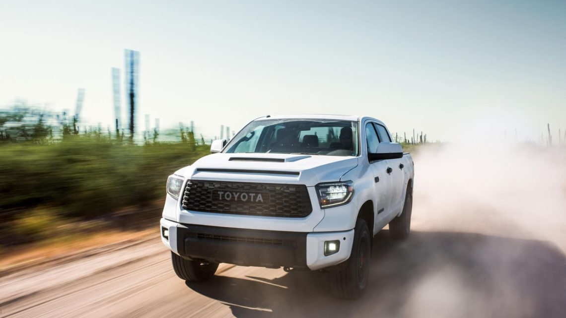 Peek at the new 2020 Toyota Tundra