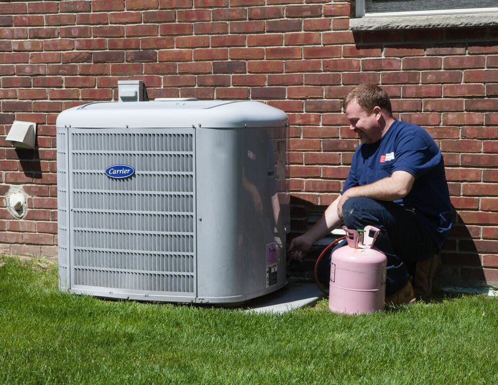 Central Air Conditioning System for Residential Homes
