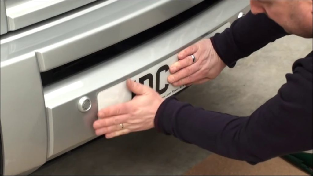 Changing Your Number Plates