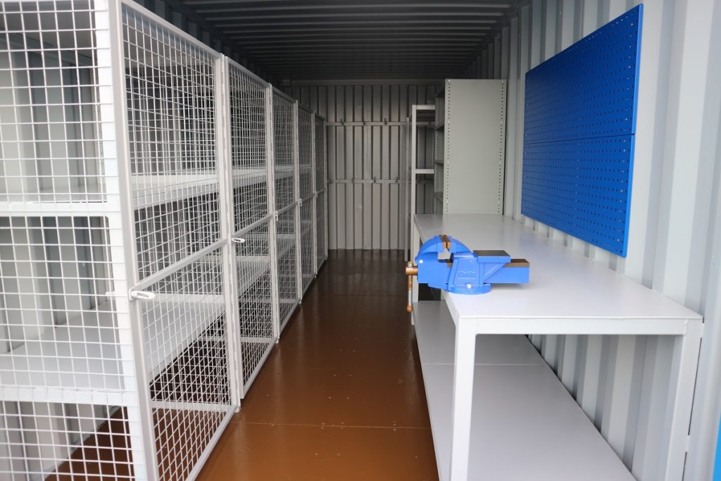20ft-new-one-trip-shipping-container-conversion-workshop-and-storage-unit-internal-modifications