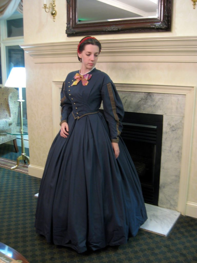 Day Dress – 1860s