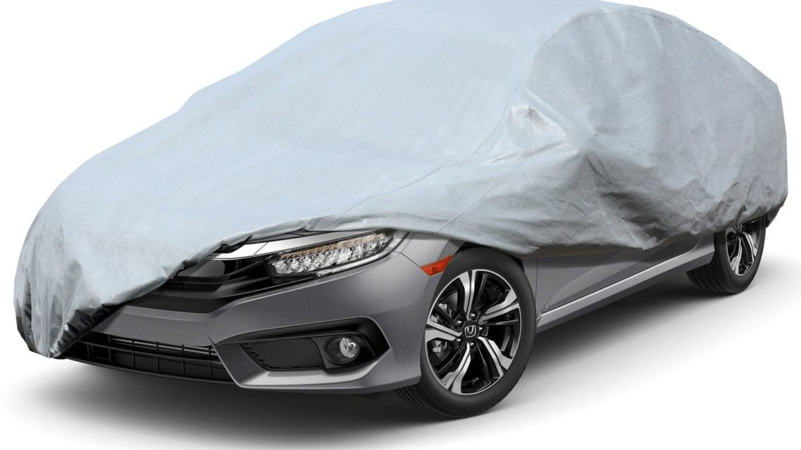 Vktech Car Cover Universal UV-proof Waterproof Cover